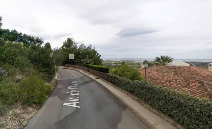 Terrain avec vue mer à vendre à Denia, Alicante, Costa Blanca