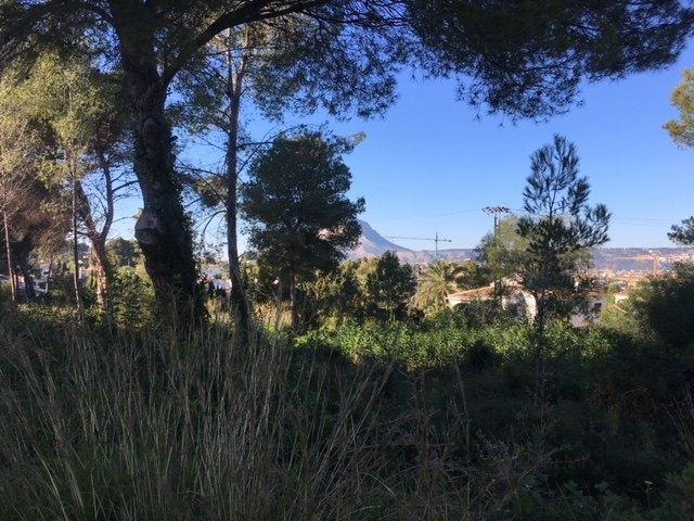 EXCELLENT TERRAIN À VENDRE À JAVEA - JAVEA - COSTA BLANCA