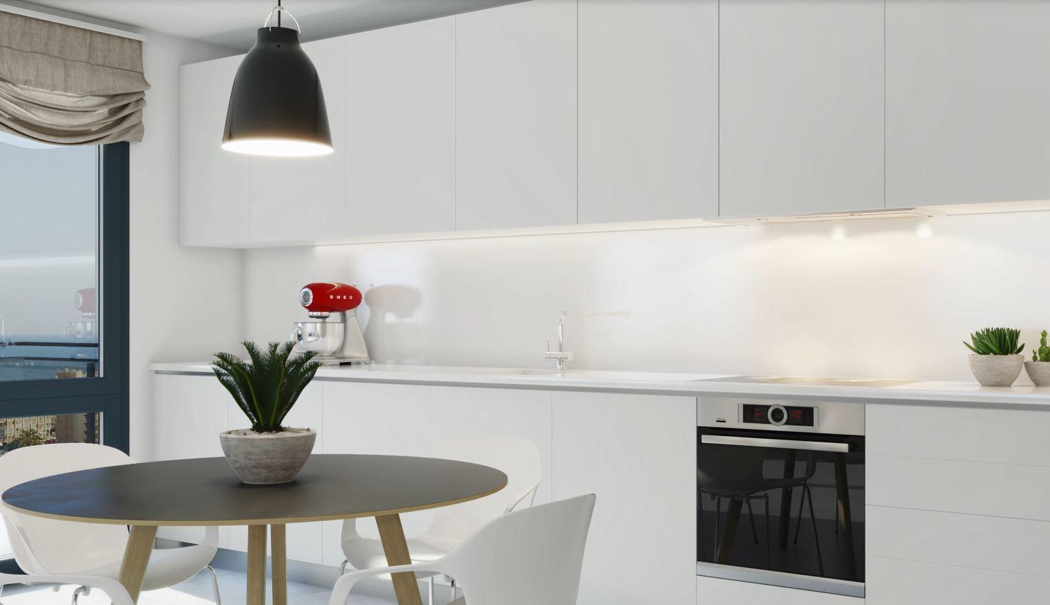 Nouvelle promotion de luxe d'appartements innovants à Calpe