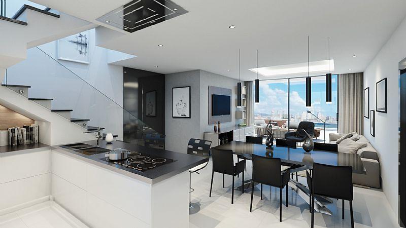 Appartement à vendre sur la première ligne de Playa Poniente - Benidorm