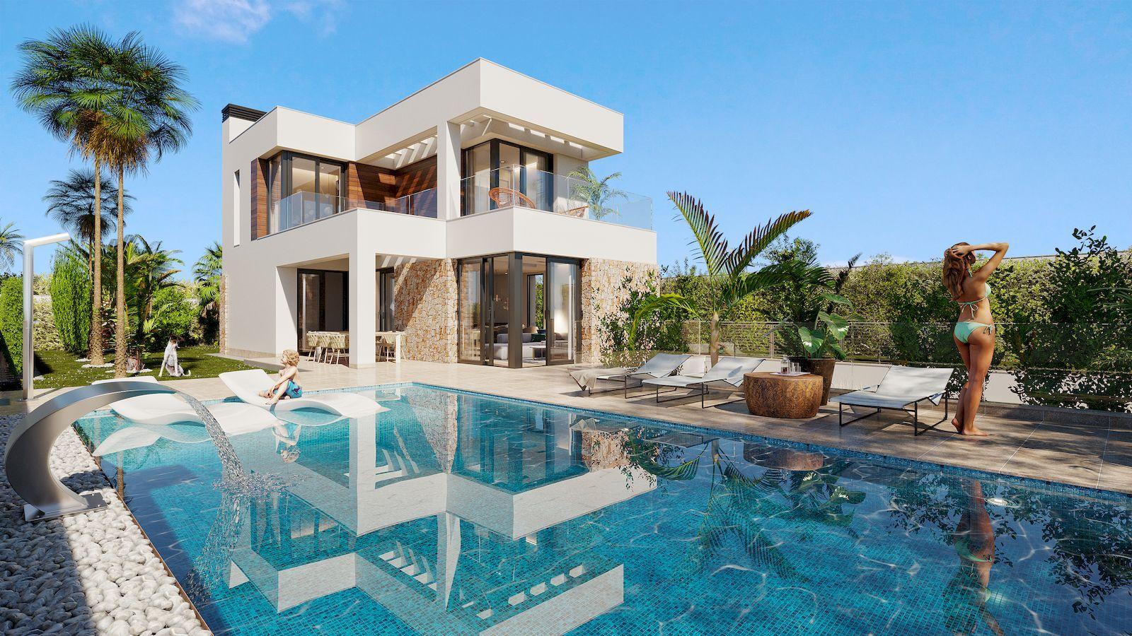 Villa de luxe moderne à vendre à Finestrat Hills - Benidorm