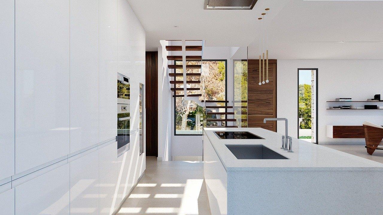 Villa de luxe de style moderne à vendre en Sierra Cortina - Benidorm