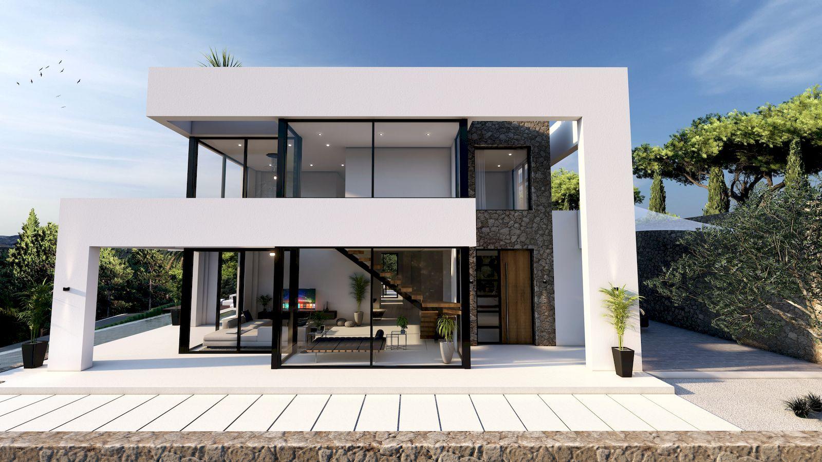 Villa Moderne de Nouvelle Oeuvre à vendre à Benissa - Costa Blanca